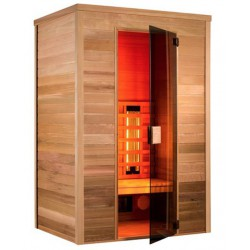 De sauna infrarrojo Multiwave 130-2 plazas Holl