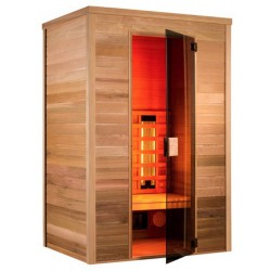 De sauna infrarrojo Multiwave 150-3 plazas Holl