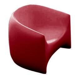 Golpe cadeira vermelha de empuxo