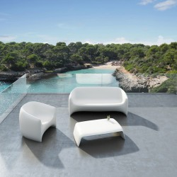 Blow Vondom white coffee Table