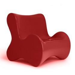 Weiche Butaca Sessel Vondom rot