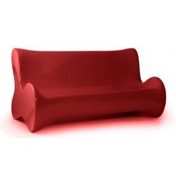 Morbido divano divano rosso di Vondom