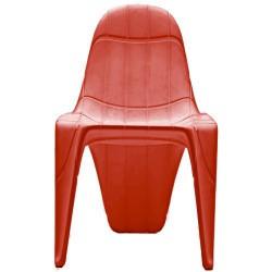 F3 Stuhl Vondom rot