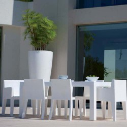 Jut Mesa 180 Table rectangular Vondom white