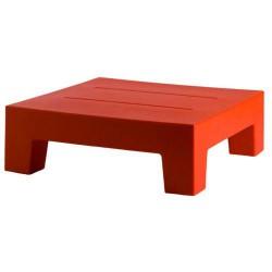 Sobresalen bajo rojo de Vondom Mesa 60 tabla