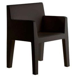 JUT Vondom silla negra de surco