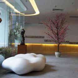 مقاعد البدلاء بانكو الحمم البركانية فوندوم أبيض