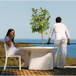 Plantador de mesa médio branco Vondom MoMA