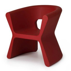 PAL-Furche Stuhl Vondom rot