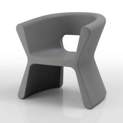 Sulco PAL empuxo cadeira cinza