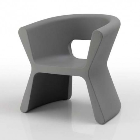 PAL furrow Chair Vondom grey
