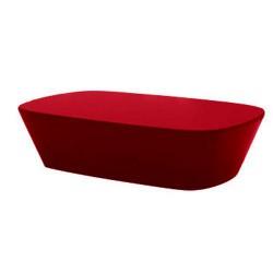 Mesa de centro de Sabinas Vondom vermelho