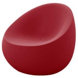 Poltrona di pietra rossa di Vondom