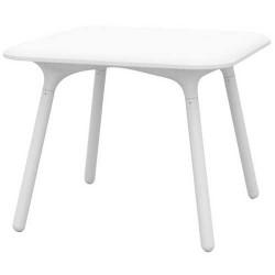 Empuxo de Sloo de mesa 90x90 branca