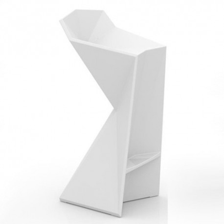Vertex Vondom white stool