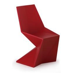 Vertex Silla Chaise Vondom Rouge