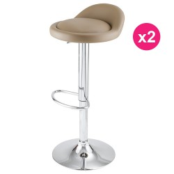 Set of 2 Mole KosyForm Bar stools