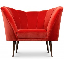 Fauteuil ANDES Rouge BRABBU Design Forces