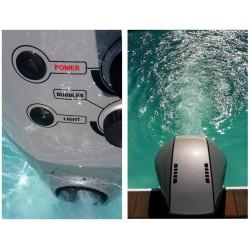 السباحة ضد طائرة أكواجيت الحالي 100 تيار بولمارينا