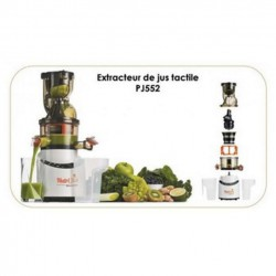 Juicer SIMÉO PJ552 touch with press for Fruits and vegetables