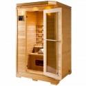 Sauna infravermelho Granada 2 lugares VerySpas