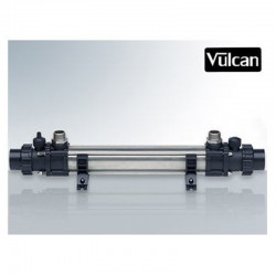 Vulcan 40kW-titanium Tubular heat exchanger