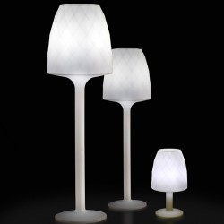 Lamp Design white H220 Vondom Vases