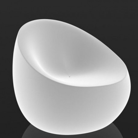 Fauteuil Lumineux Stone Vondom Blanc
