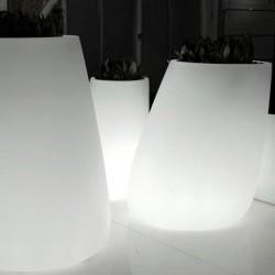 Pot Lumineux Stone Vondom Blanc