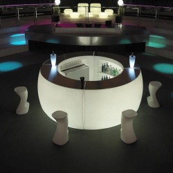 Bar round Fiesta Vondom illuminated 160 cm