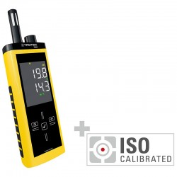 Detachable infrared Trotec T260 Etalonne according to ISO I.2302