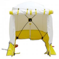 Tente Cubique de Chantier Trotec 180 KE Jaune 180 x 180 x 200