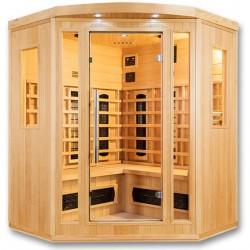 Sauna de infrarrojos Orwen Club 4 lugares VerySpas