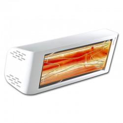 Calefacción infrarroja Heliosa Hi diseño 44 blanco Carrara 2000W IPX5