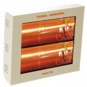 Heating infrared Varma 400-2 cream 3000 Watts