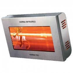 Infrarot-Varma V400-15 Edelstahl 1500 Watt Heizung
