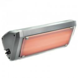 Chauffage Electrique Infrarouge HELIOSA Modèle 9-1 Silver- 2000 W IPX5