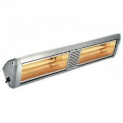 Chauffage Electrique Infrarouge HELIOSA Modèle 99 Silver - 4000 W IPX5