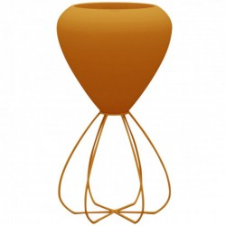 Pot spaghetti planter basic Vondom Orange