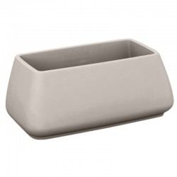 Garden pot MoMA Vondom taupe height 70