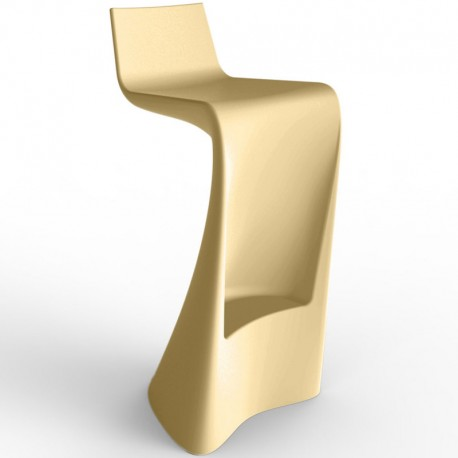 Bar stool wing Vondom beige Matt