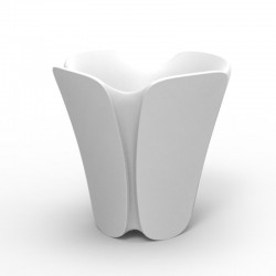 Pot planter design Pezzettina Vondom white 50x50xH85