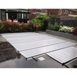 CBE-650 9x4 grey pool bar cover