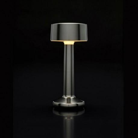 Luminaire de Table Imagilights Led Sans Fil Collection Moments Cadet Grey Cylindre