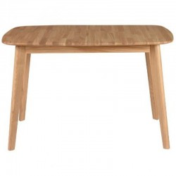 Meal table with Oak Allonge 120cm Pery KosyForm