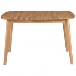 Table de Repas avec Allonge en Chêne 120cm Pery KosyForm