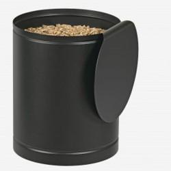 Rangement à Granulés Batiss Noir Givré Dixneuf Design