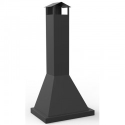 CB-60 Metal Outdoor Hotte Chimney for Barbecue