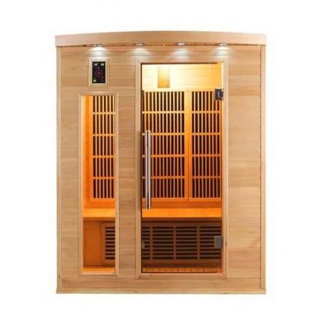 Infrared Sauna Apollon Quartz 2 places France Sauna