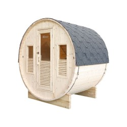 Gaïa Bella 3-seater outdoor sauna with Harvia Vega stove 6 kW